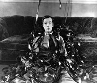 Buster Keaton in Sherlock, jr. (USA 1924)